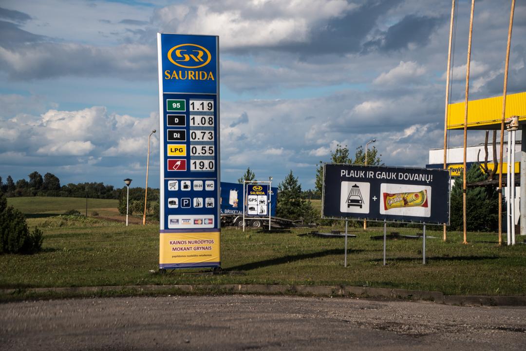 ile kosztuje benzyna na Litwie - cena benzyny na Litwie