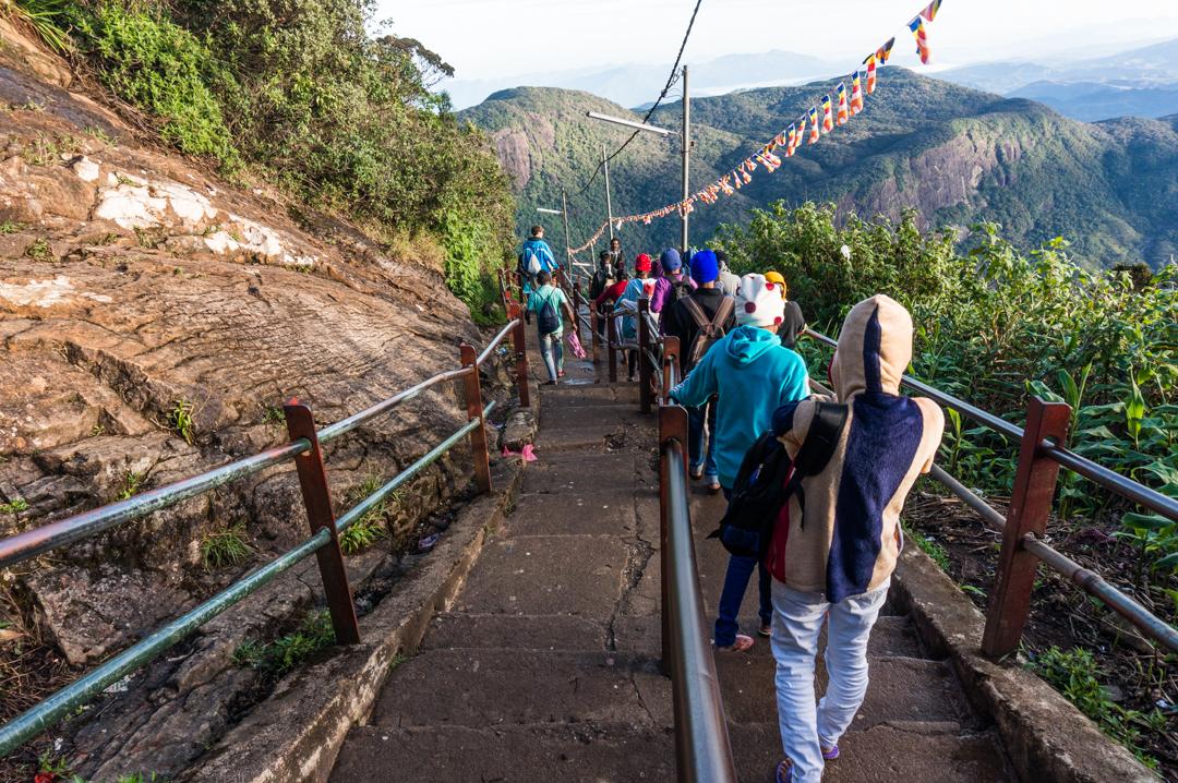 Sri Lanka co zobaczyć -Adam's Peak