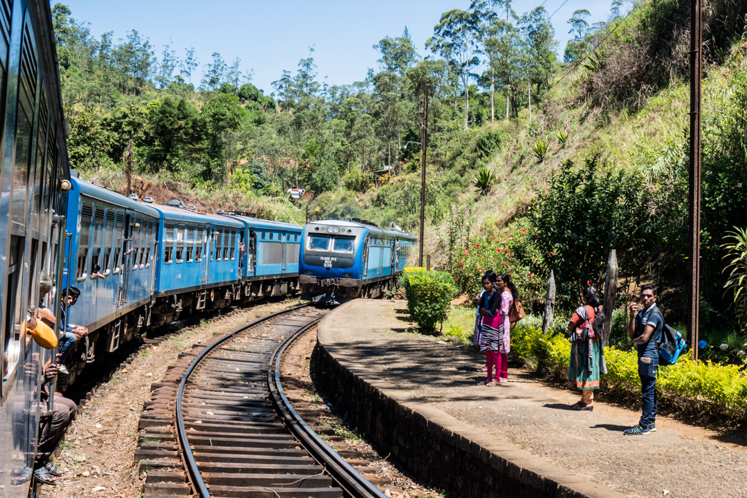 Sri Lanka co zobaczyć -Pociąg do Kandy