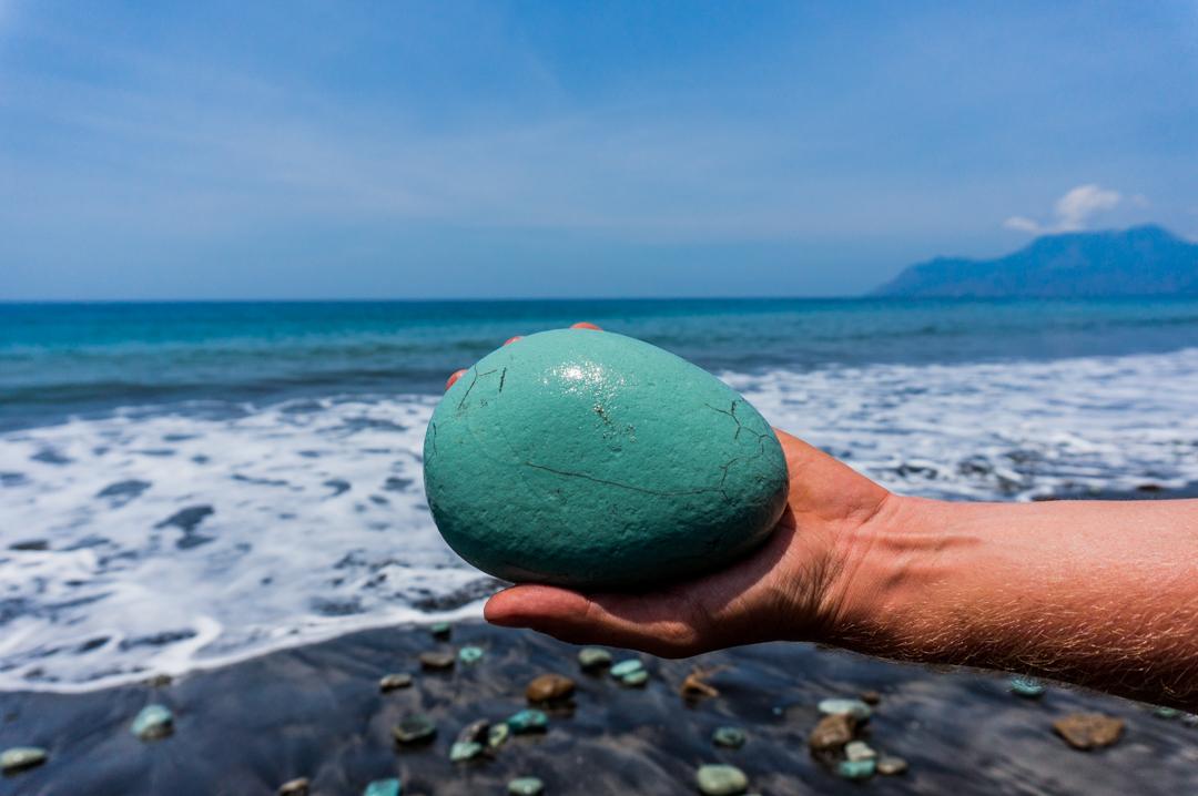 Flores co zobaczyć - Indonezja - Blue Stone Beach