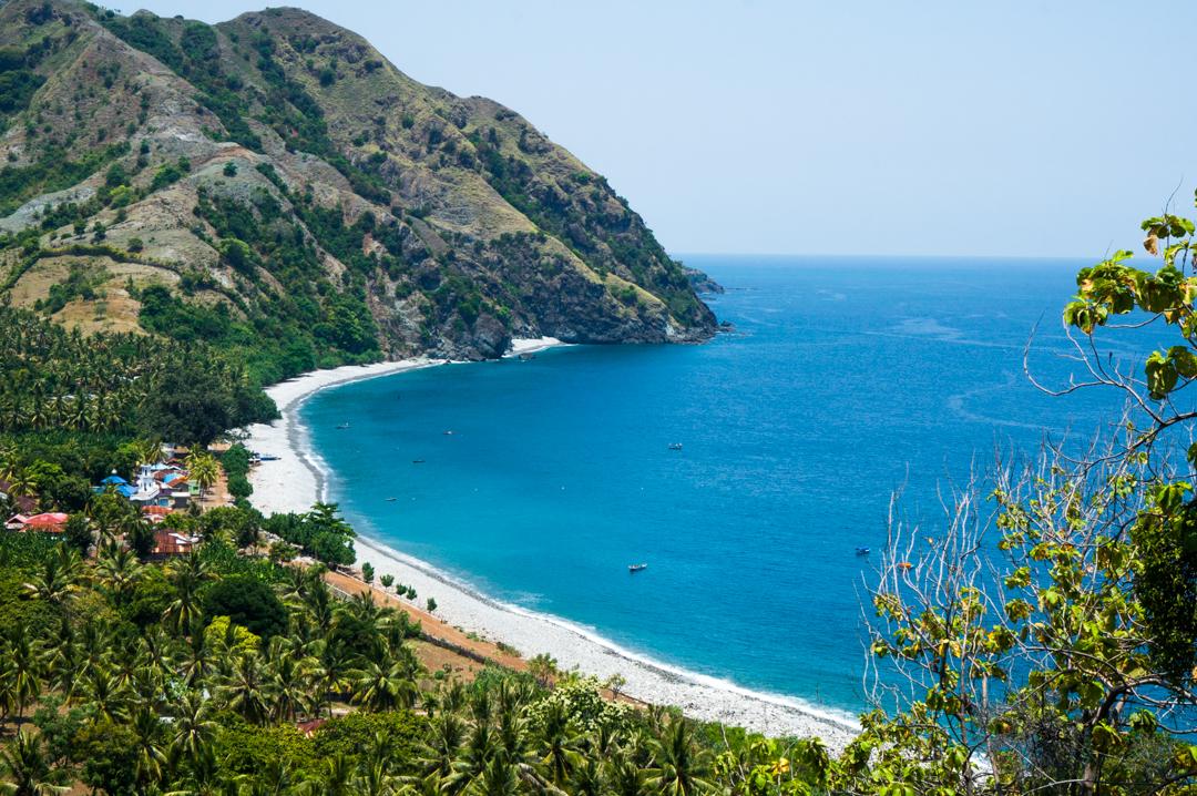 Plaże na FLores w Indonezji