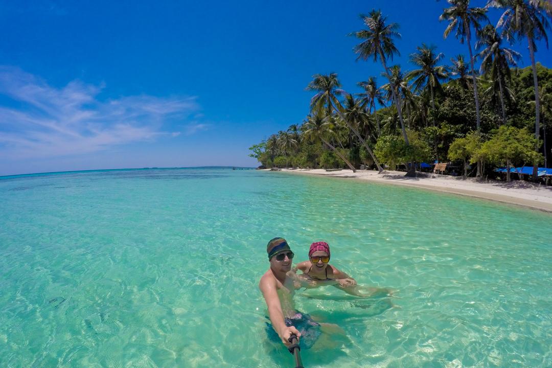Najpiękniejsza plaża w Indonezji
