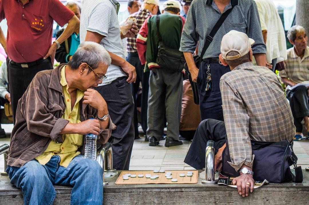 Ludzie na Tajwanie