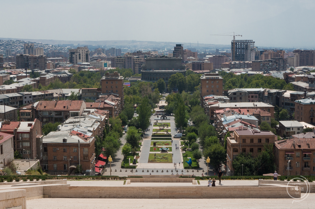 Armenia - co zobaczyć - Kaskady w Erywaniu