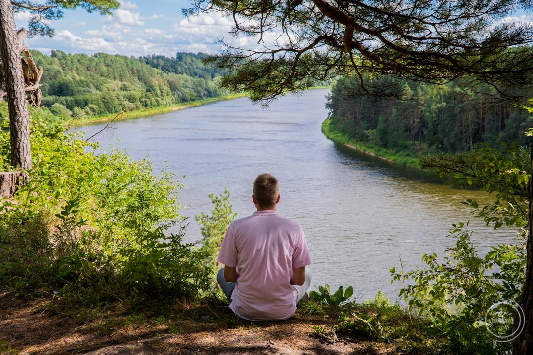 Rzeka Niemen na Litwie - punkty widokowe