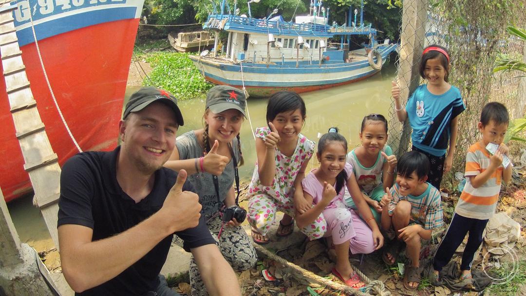 Dzieci w Wietnamie