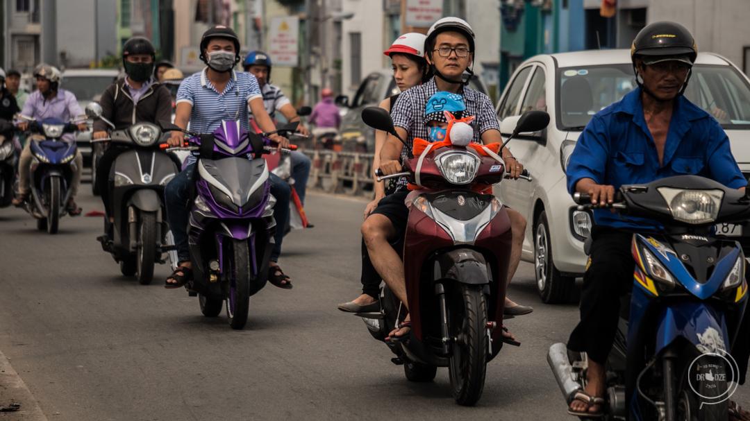 Ruch drogowy w Wietnamie