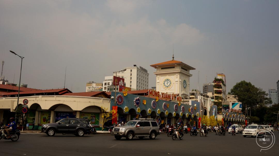 Ben Than Market w Sajgonie